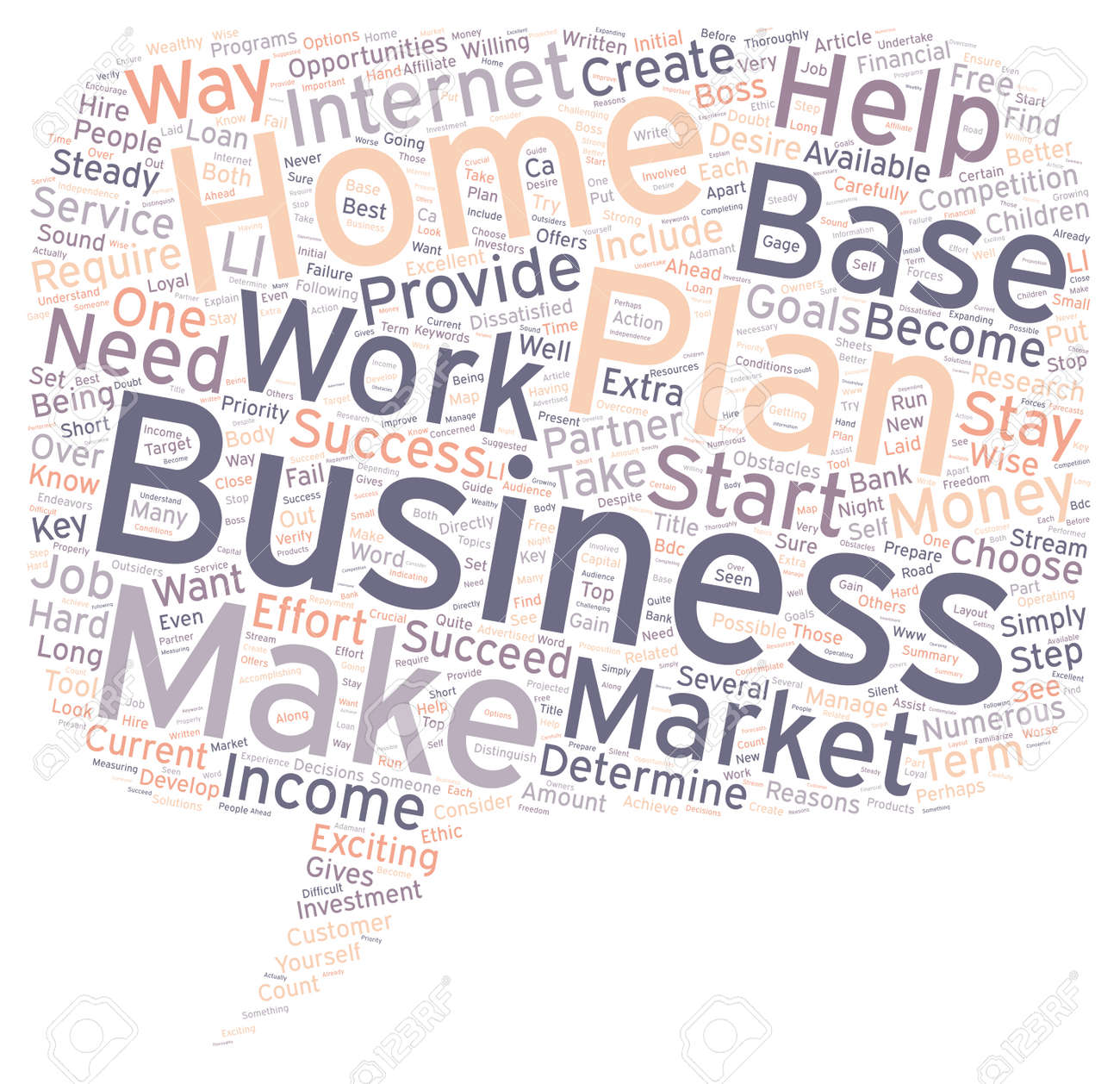 You Can Make Money With A Home Based Business Your Business Plan ...