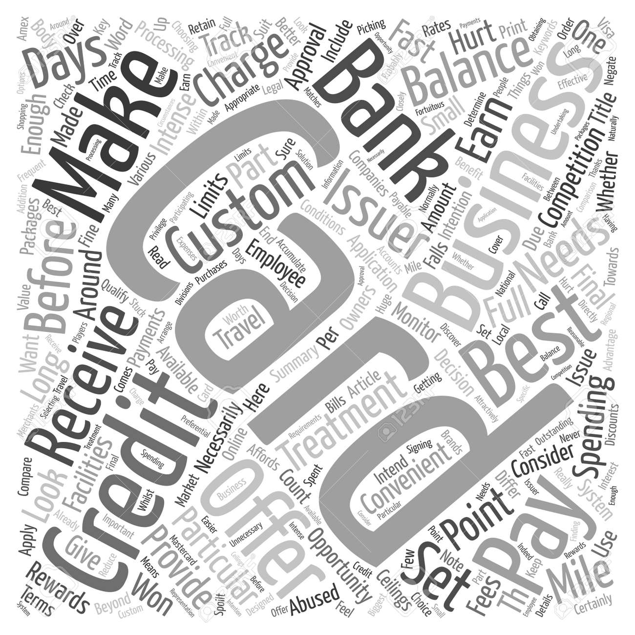 Which business credit card is best for you text background wordcloud vector which business credit card is best for you text background wordcloud concept reheart Image collections