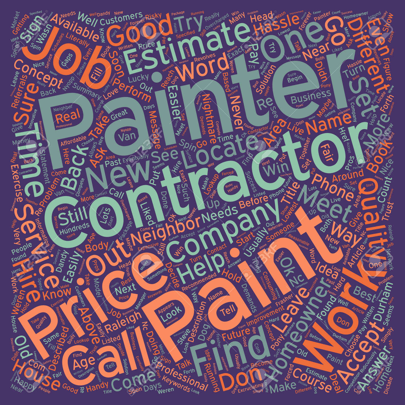 Find A Contractor >> New Answer To Age Old Problem How To Find A Contractor Text Background