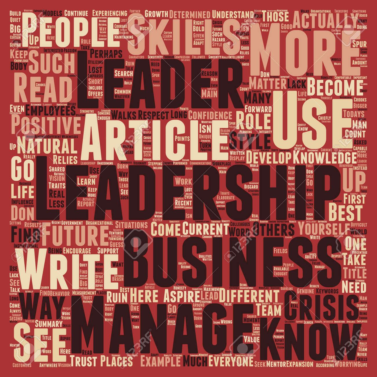 Leadership Crisi Come Una Crisi Di Leadership Può Rovinare Il Vostro