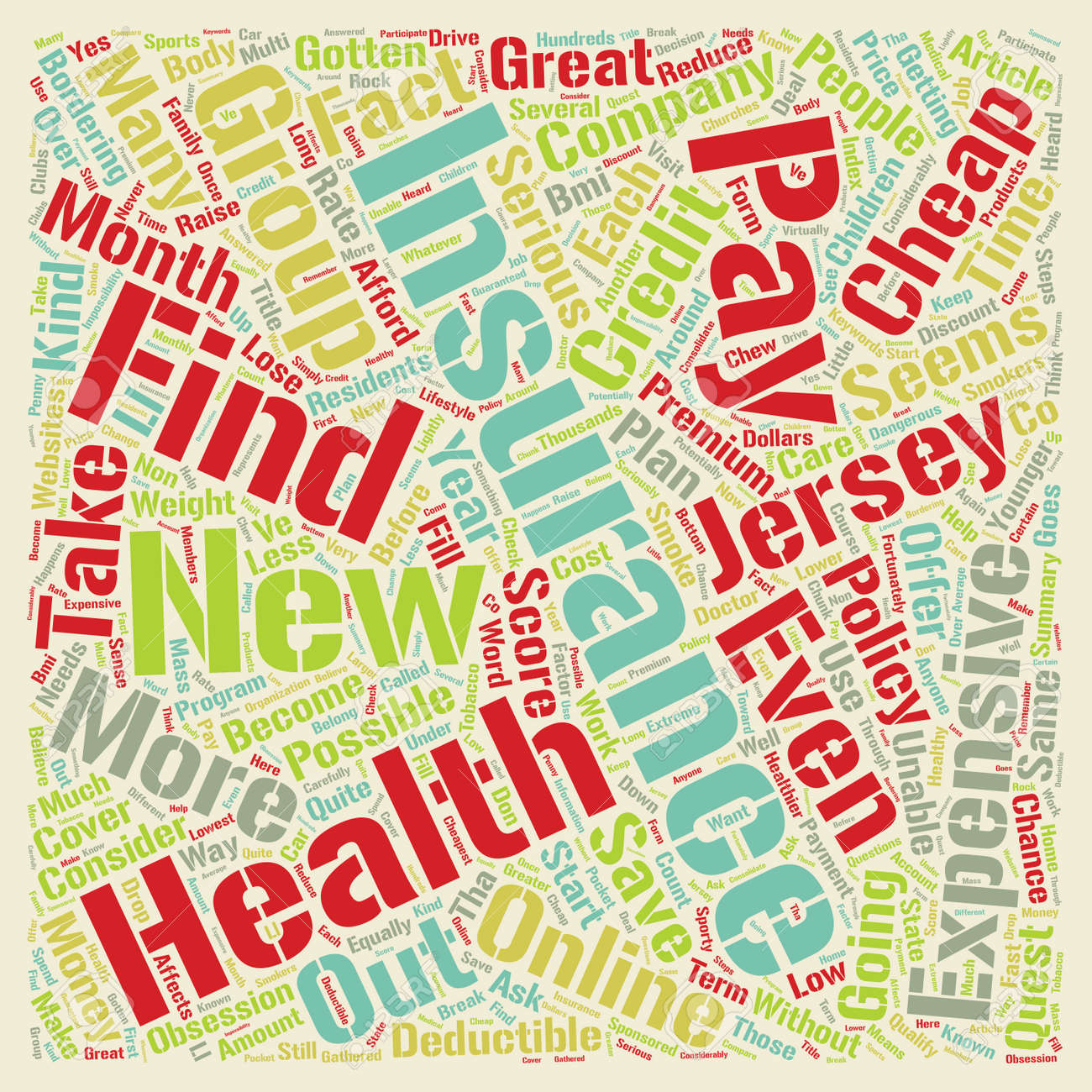 Cheap Health Insurance >> How To Get Cheap Health Insurance Online In New Jersey Text Background