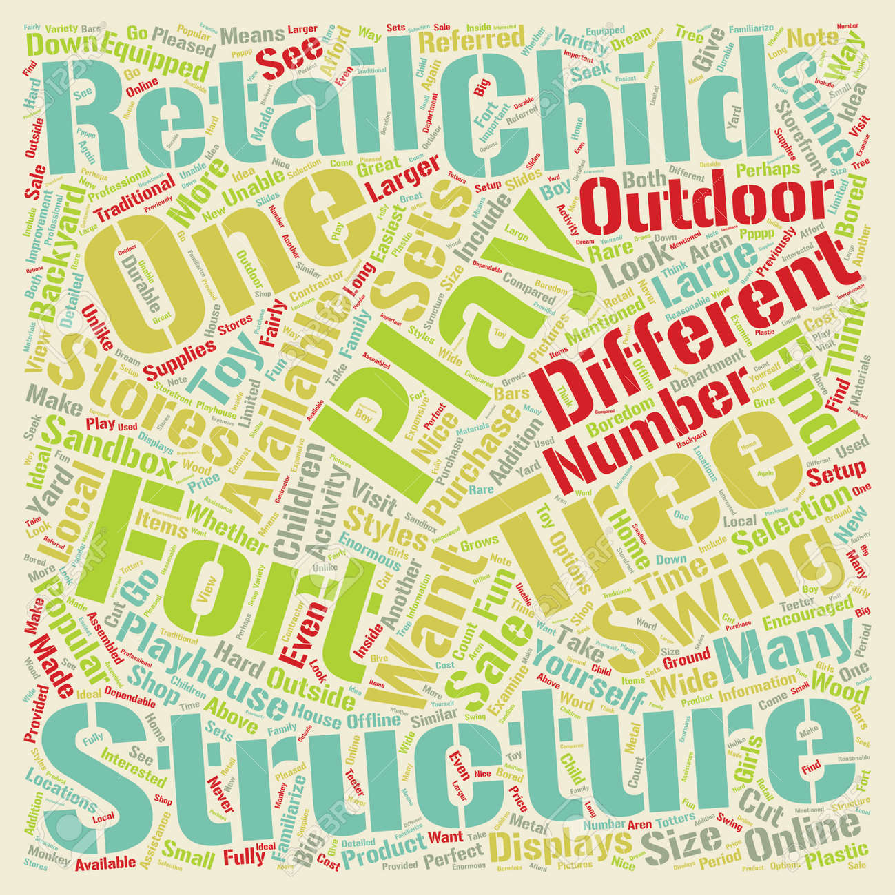 Image of: Backyard Play Structures For Children 1 Text Background Wordcloud Royalty Free Cliparts Vectors And Stock Illustration Image 67972762