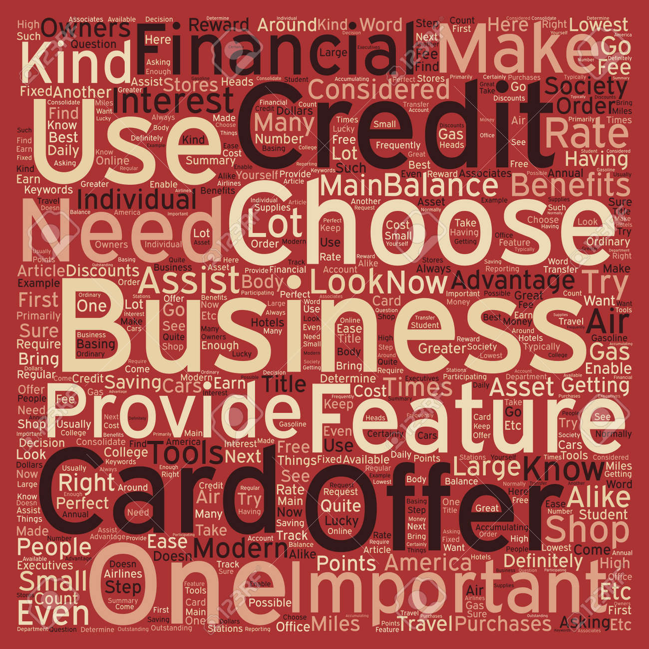 Business credit cards credit card offers that is perfect for your business credit cards credit card offers that is perfect for your business text background wordcloud concept reheart Image collections