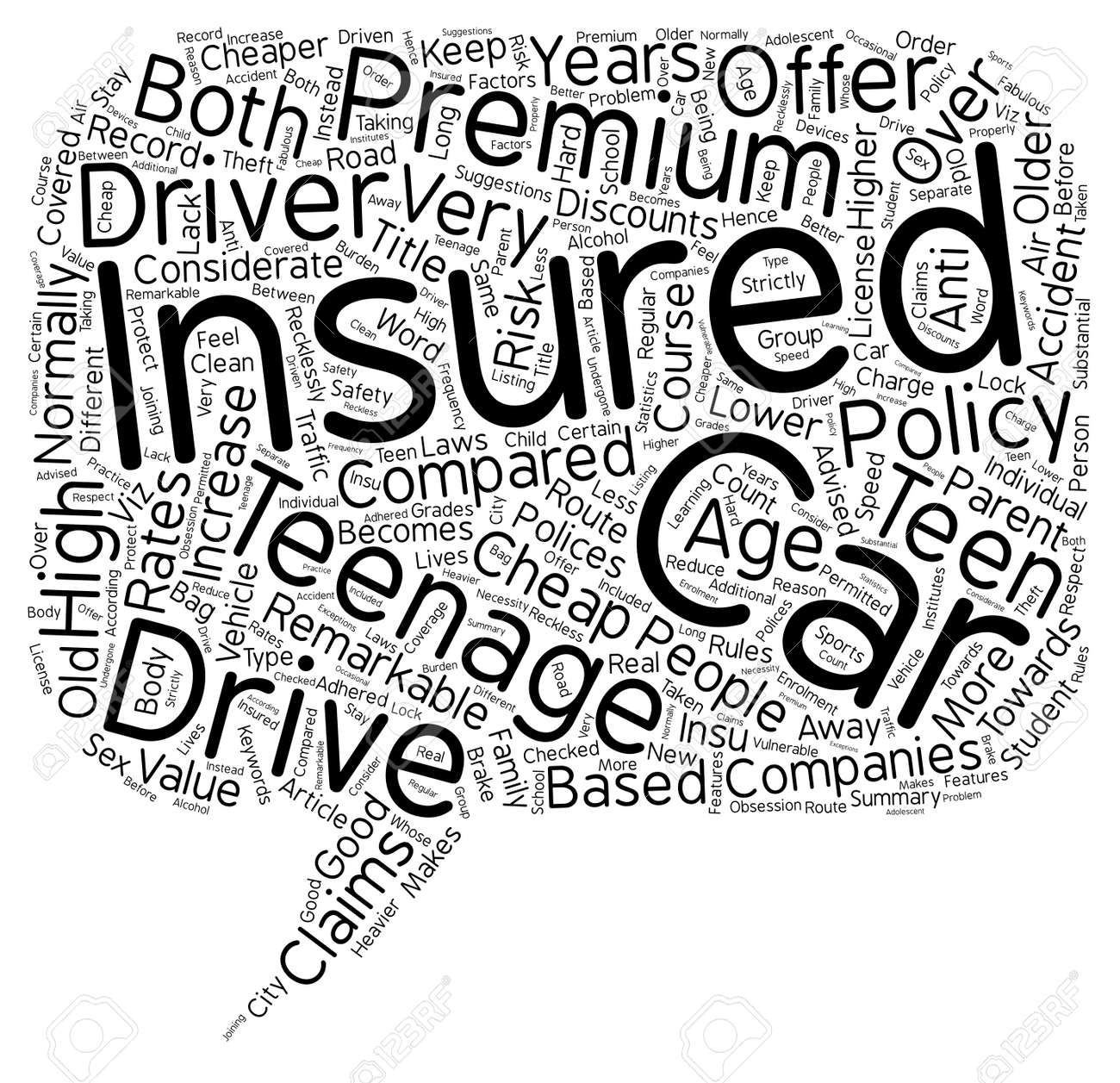 Cheap Insurance For Teens >> Car Insurance For Teens Is There A Cheaper Route Text Background