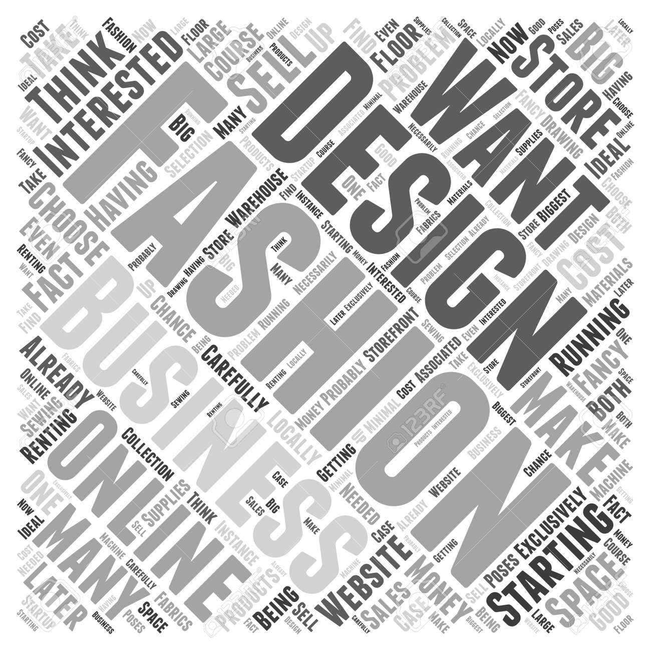 Can You Make Money As A Fashion Designer Word Cloud Concept Royalty Free Cliparts Vectors And Stock Illustration Image 72588503