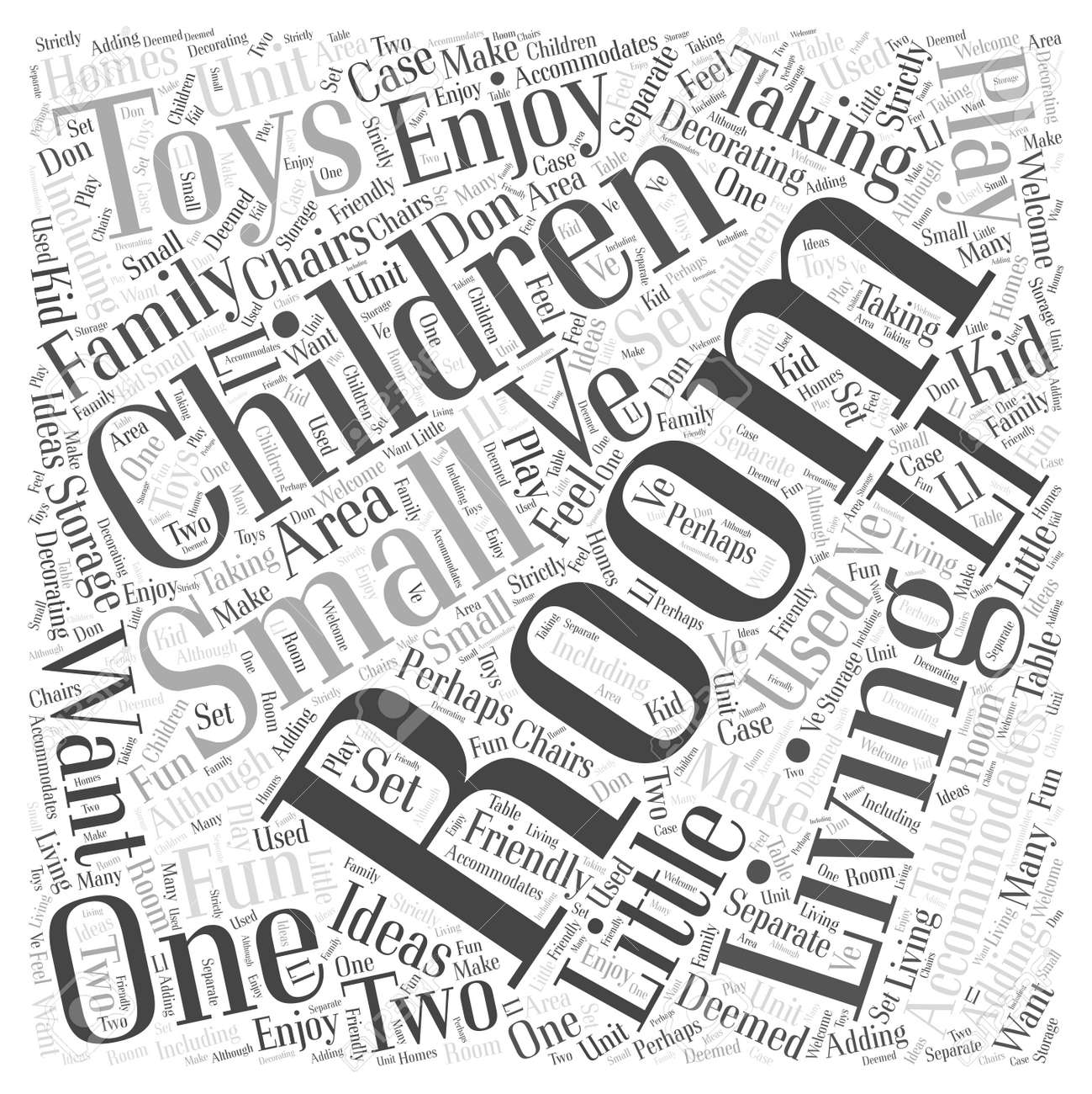 decorating ideas for a living room Word Cloud Concept