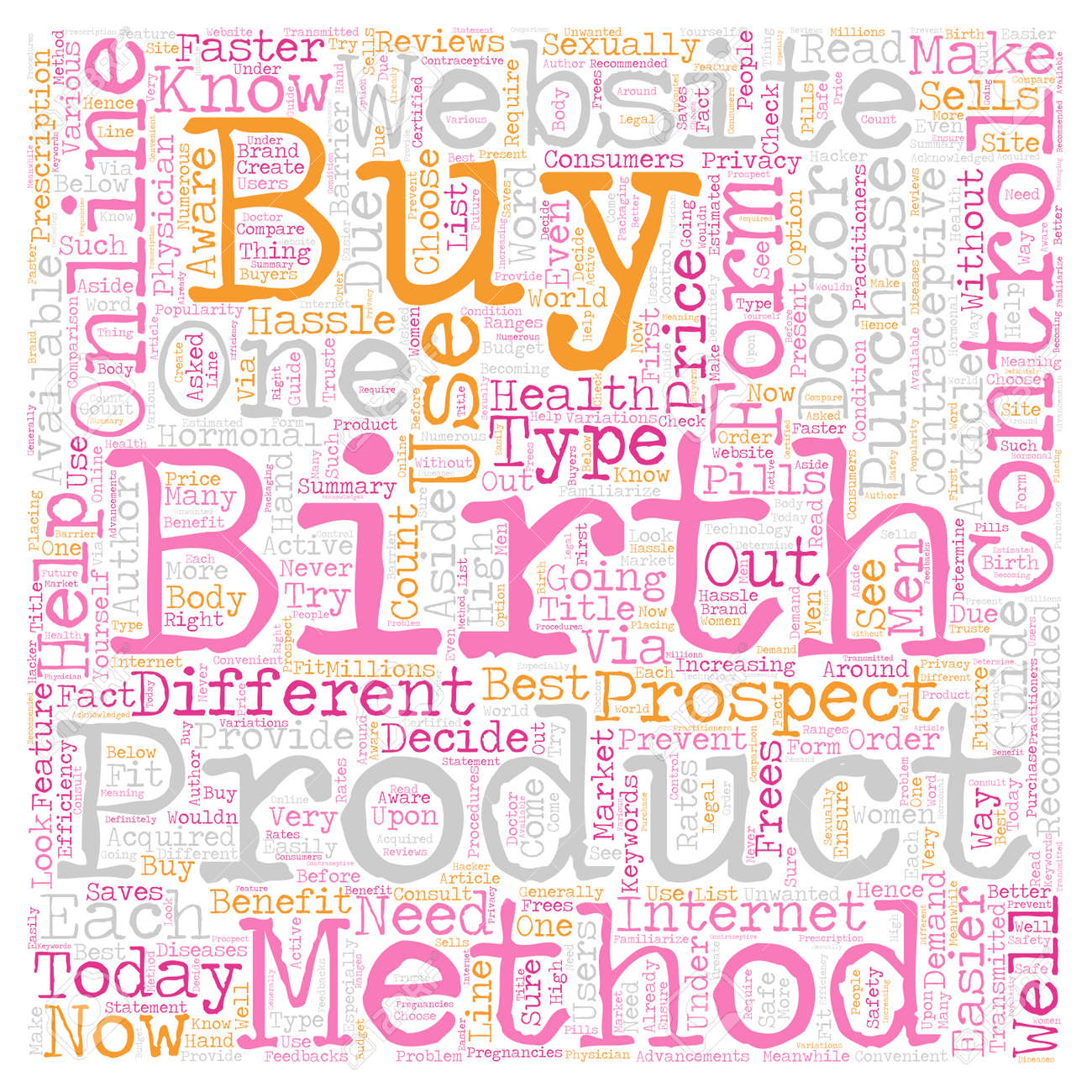 how to buy birth control online text background wordcloud concept stock vector 73332339 - Buy Birth Control Online