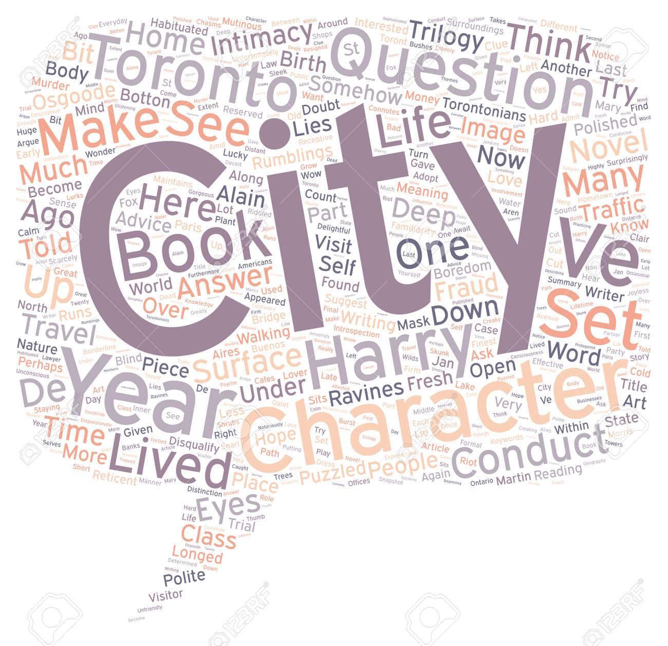 Come Una Città Può Essere Un Personaggio Nel Testo Nuovo Concetto Di