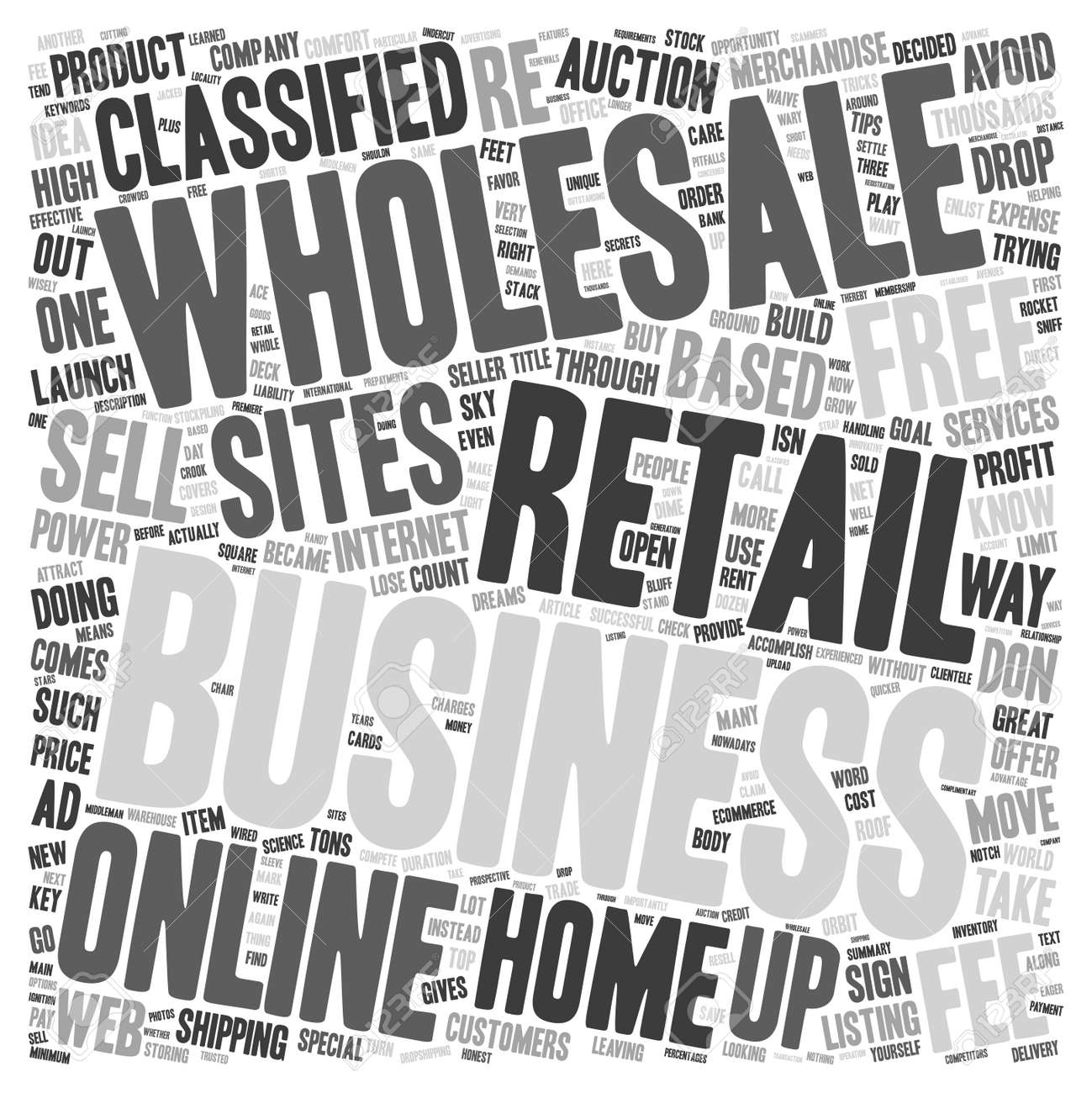 Launch Your Home Based Retail Business Through The Roof Text ...