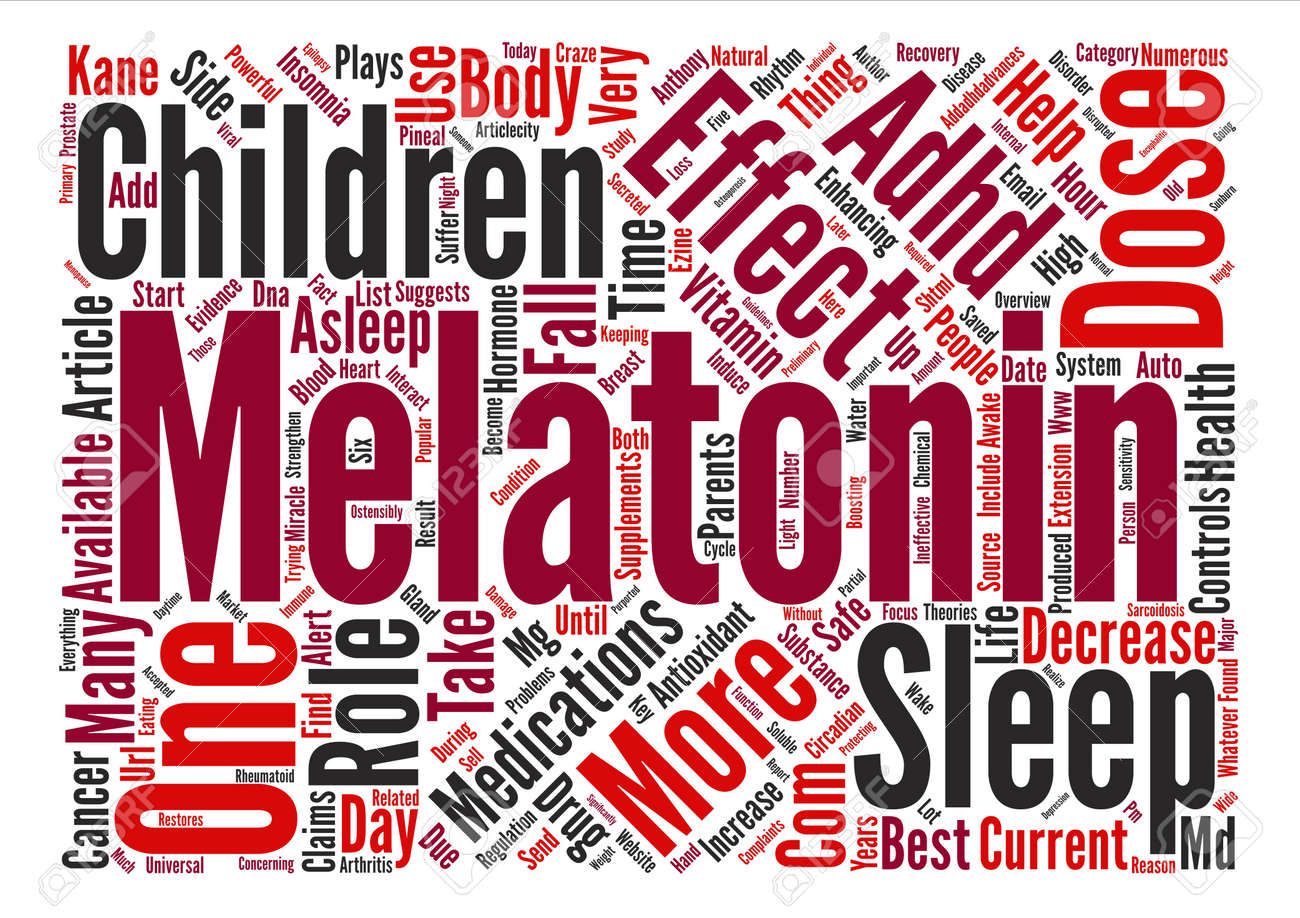 Best Auto Recovery >> Melatonin Sleep Enhancement And Adhd Auto Recovery Text Background
