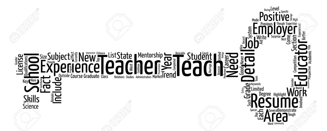 how to write the best teacher resume you can text background