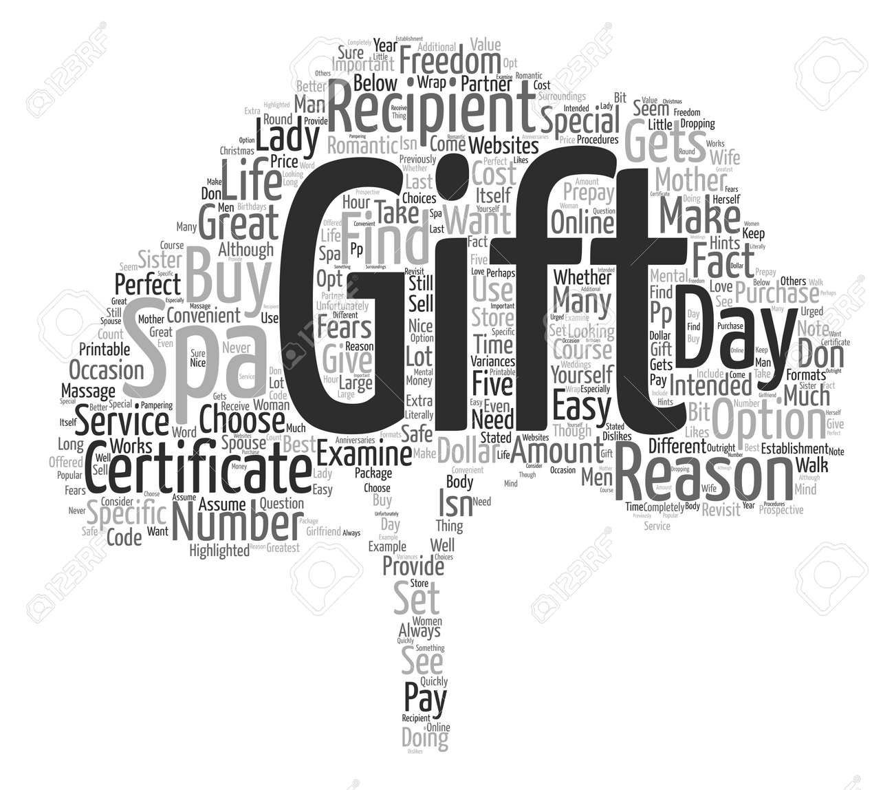 Day Spa Gift Certificates Reasons Why You Should Buy Them Text ...