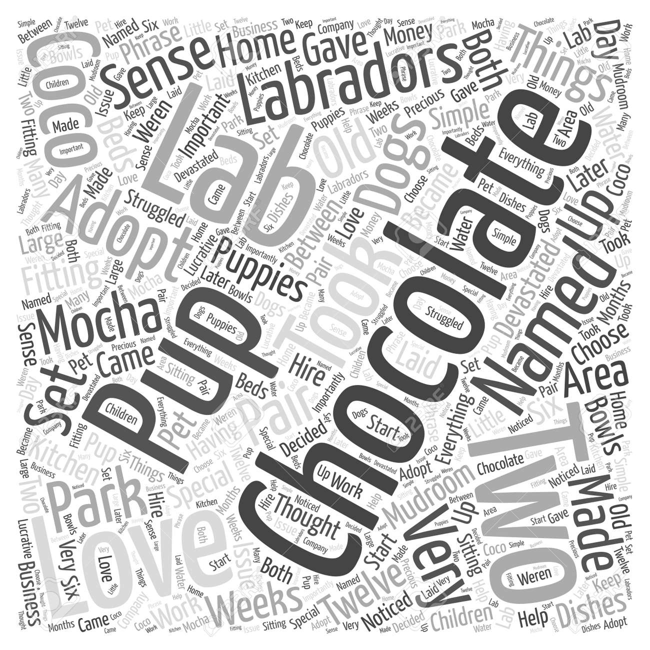 chocholate lab word cloud concept royalty free cliparts vectors Veterinary Laboratory Equipment Lab chocholate lab word cloud concept stock vector 73728886