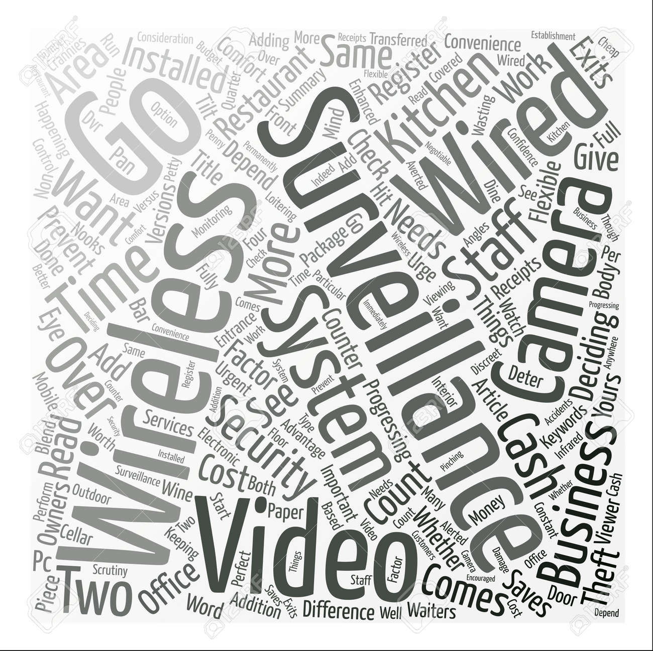 Wired Or Wireless Video Surveillance What s The Difference Word