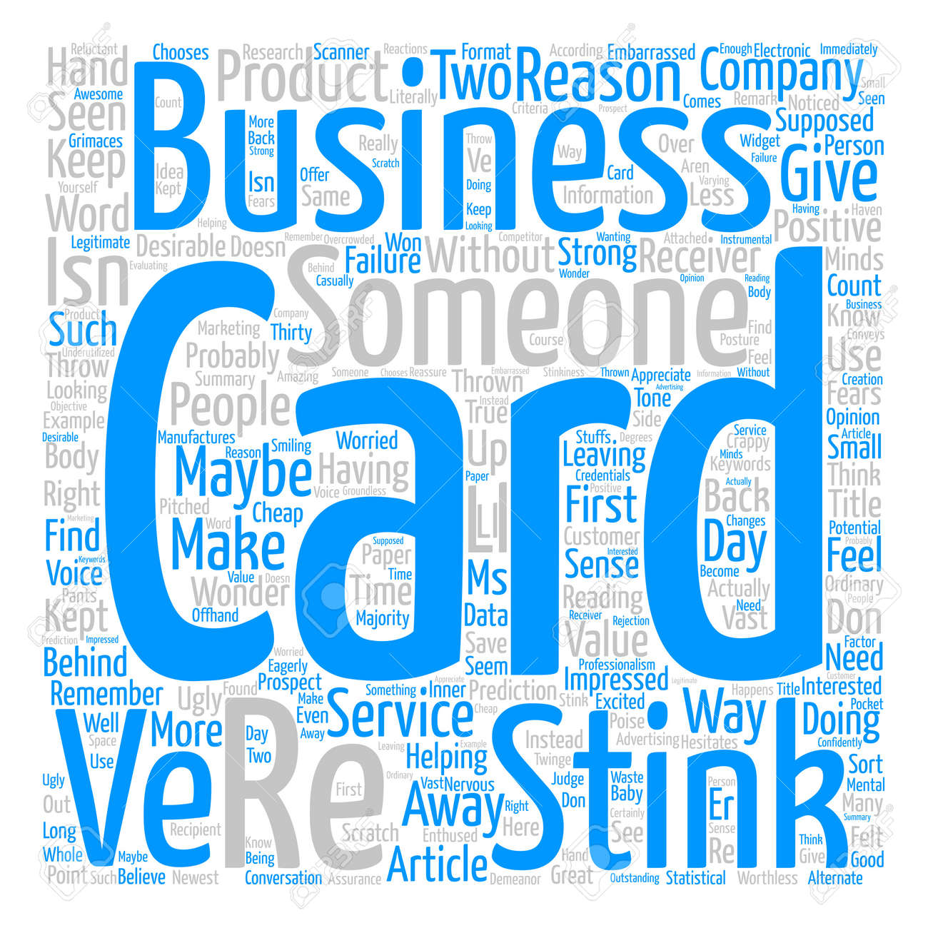 How to know if your business card stinks text background word how to know if your business card stinks text background word cloud concept stock vector reheart Choice Image