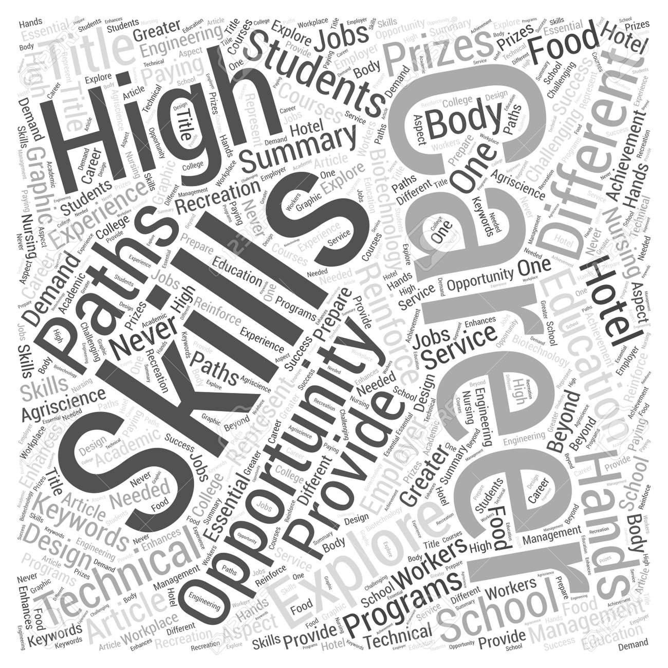 the opportunity to explore different career paths word cloud Pharmacy Tech History the opportunity to explore different career paths word cloud concept stock vector 74422704