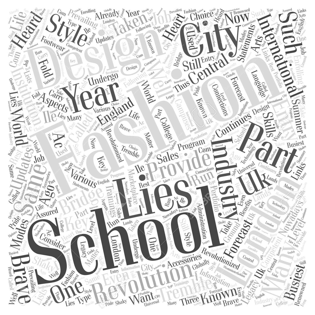 London Fashion Design Schools Word Cloud Concept Royalty Free Cliparts Vectors And Stock Illustration Image 74203380