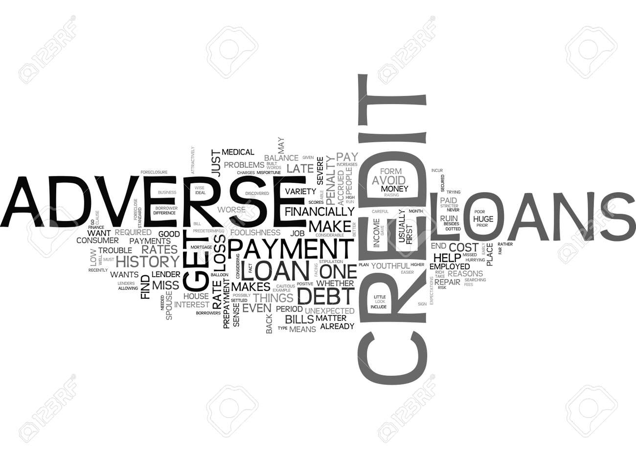 Loans For Really Bad Credit >> Adverse Credit Loans Do Not Let Your Credit History Run You Down