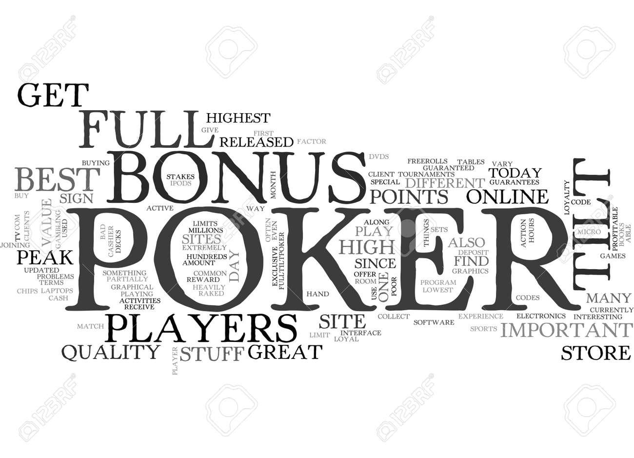 Full Tilt Poker Free Online