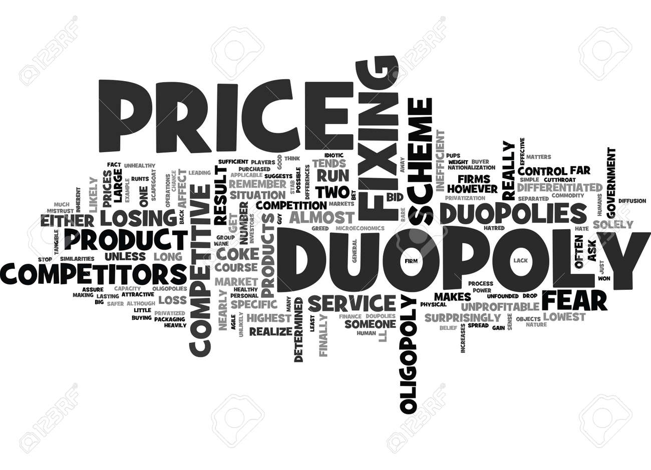 Mengapa Duopolies Jadi Kompetitif?