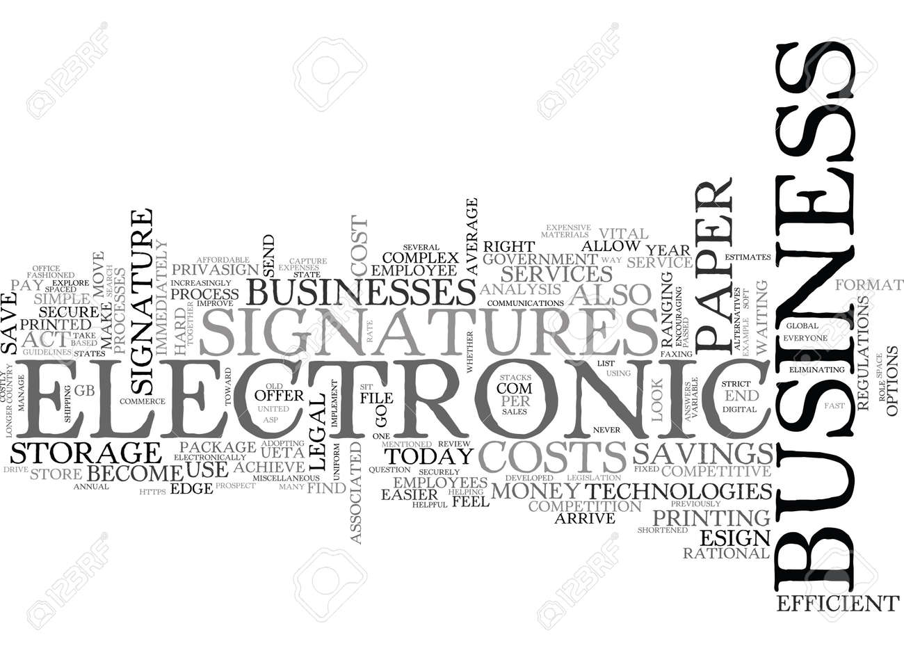 WHY SHOULD I USE ELECTRONIC SIGNATURES TEXT WORD CLOUD CONCEPT - 79580032
