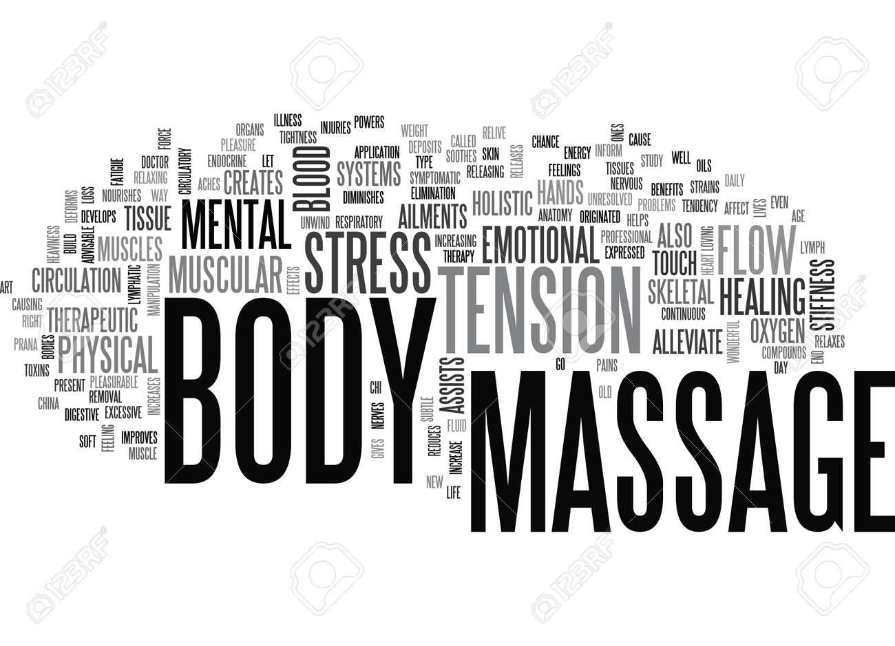 Massage Body Clip Art