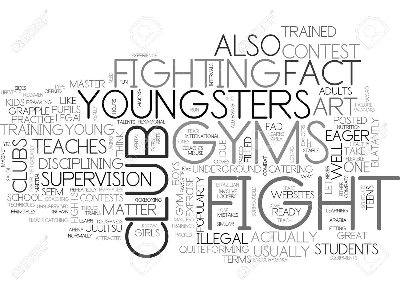 WHAT YOU NEED TO KNOW ABOUT FIGHT CLUB GYMS FOR KIDS TEXT WORD