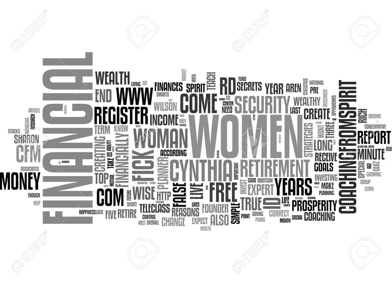WISE WOMEN MONEY QUIZ HOW MONEY WISE ARE YOU TEXT WORD CLOUD CONCEPT - 79576959
