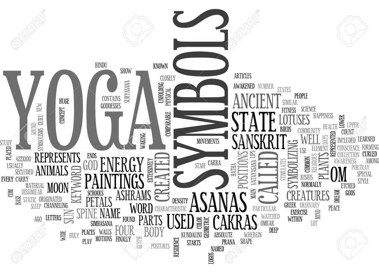 Yoga symbols text word cloud concept royalty free cliparts yoga symbols text word cloud concept stock vector 79647460 biocorpaavc Gallery