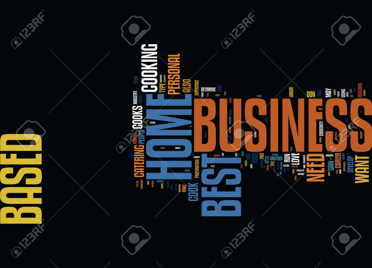best home based business ideas where to find them text background