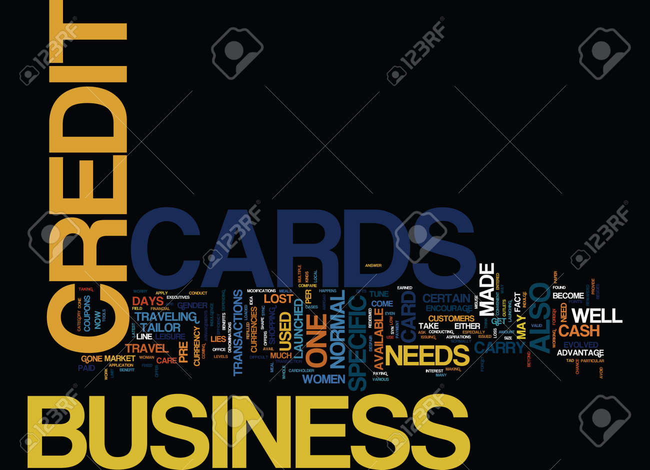 Forget the worry to carry cash use business credit cards text forget the worry to carry cash use business credit cards text background word cloud concept stock reheart Choice Image
