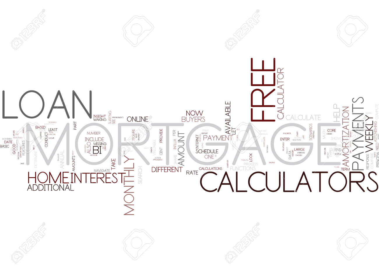 five ways to benefit from free mortgage loan calculators text