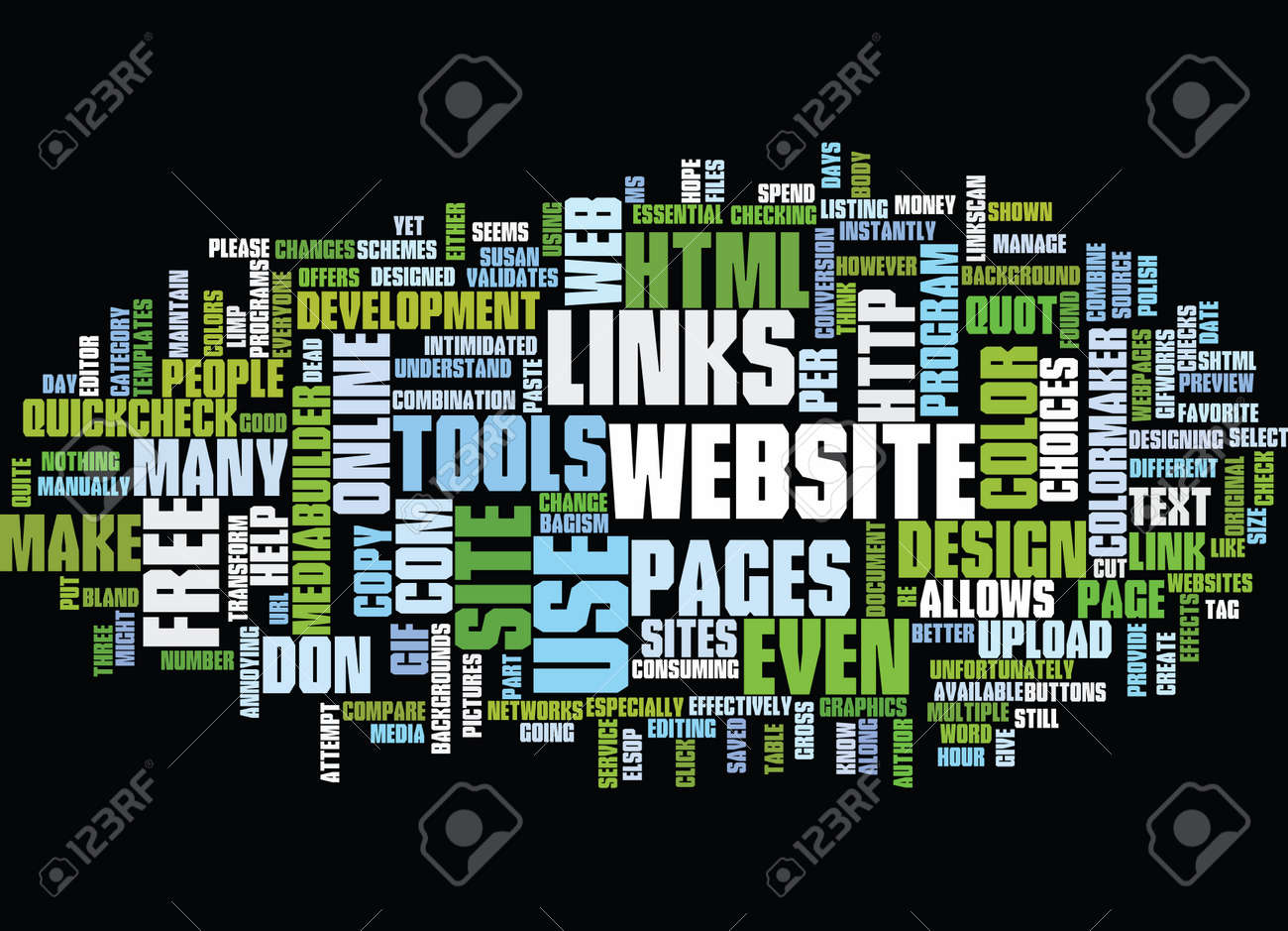 free online tools to design and maintain your website text