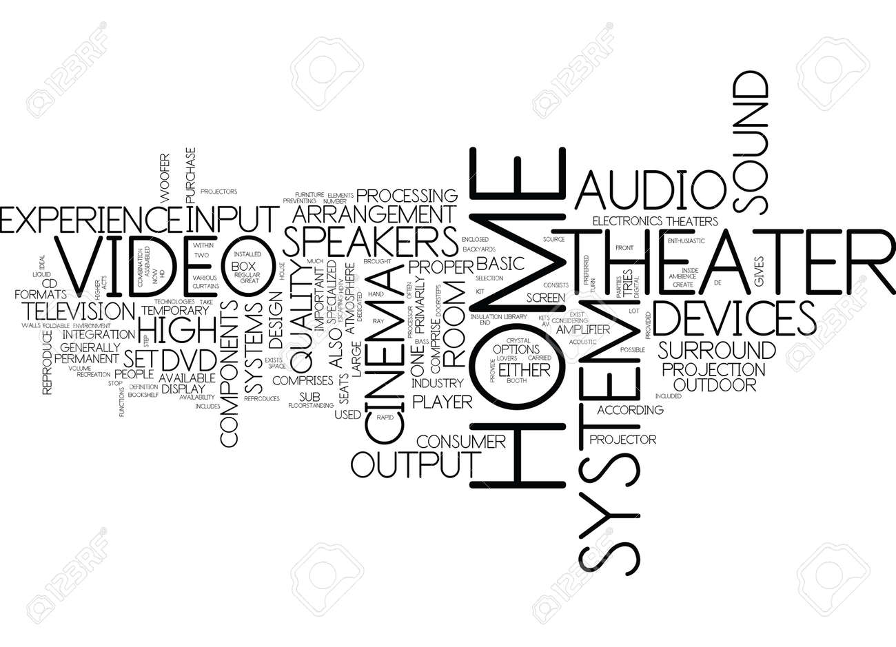 Image result for The Inside And Out Of A Home Theater