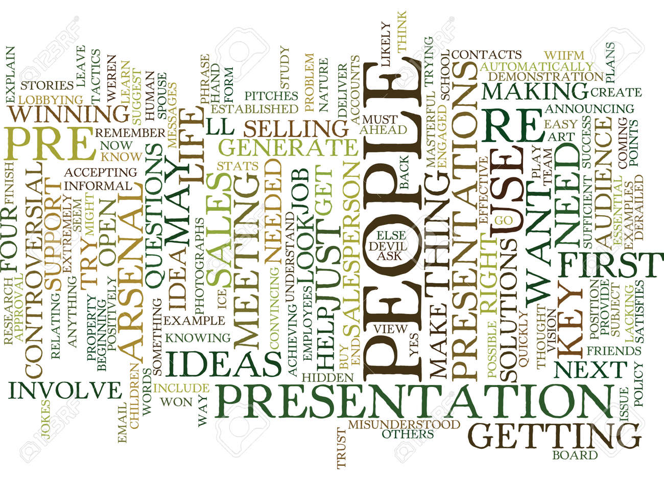 YOU ARE A SALESPERSON IN YOUR LIFE Text Background Word Cloud