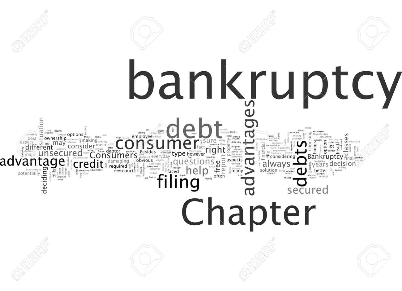 Advantages Of Bankruptcy - 132107684
