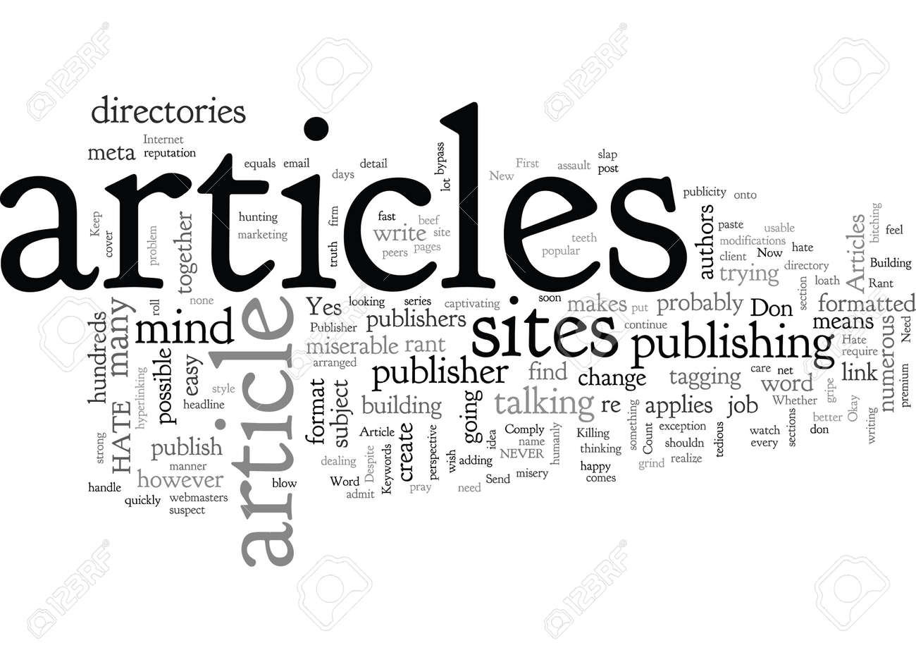 A Publisher s Rant Why I Hate Your Articles - 132107888