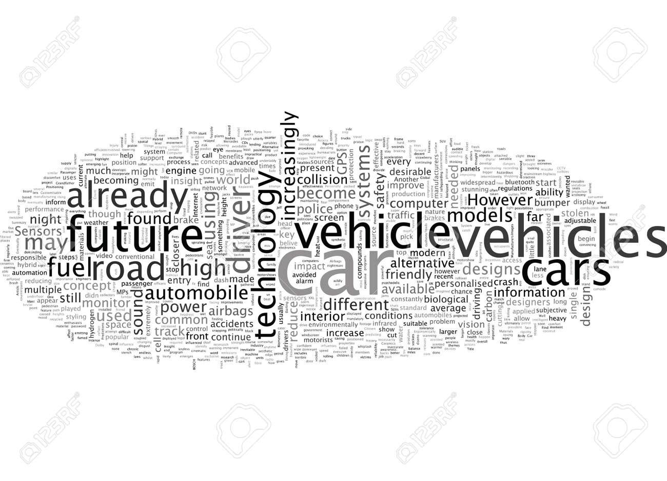 A subjective insight of the future automobile - 132108450