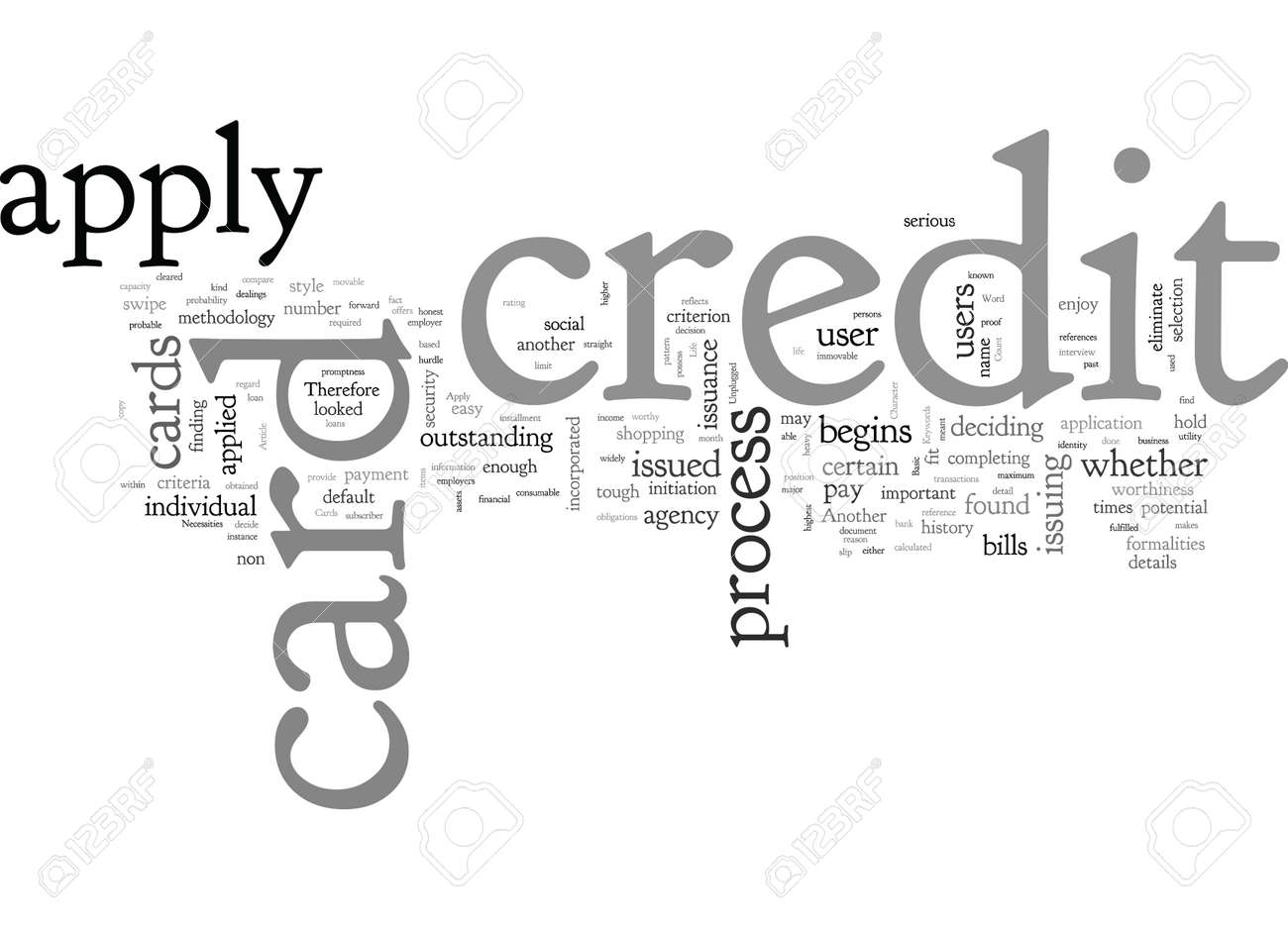 Apply For Credit Cards The Basic Necessities Unplugged - 132214014