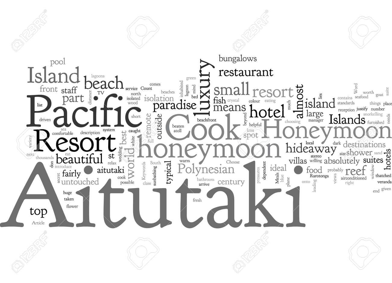 An Aitutaki Honeymoon At The Pacific Resort Aitutaki - 132214102