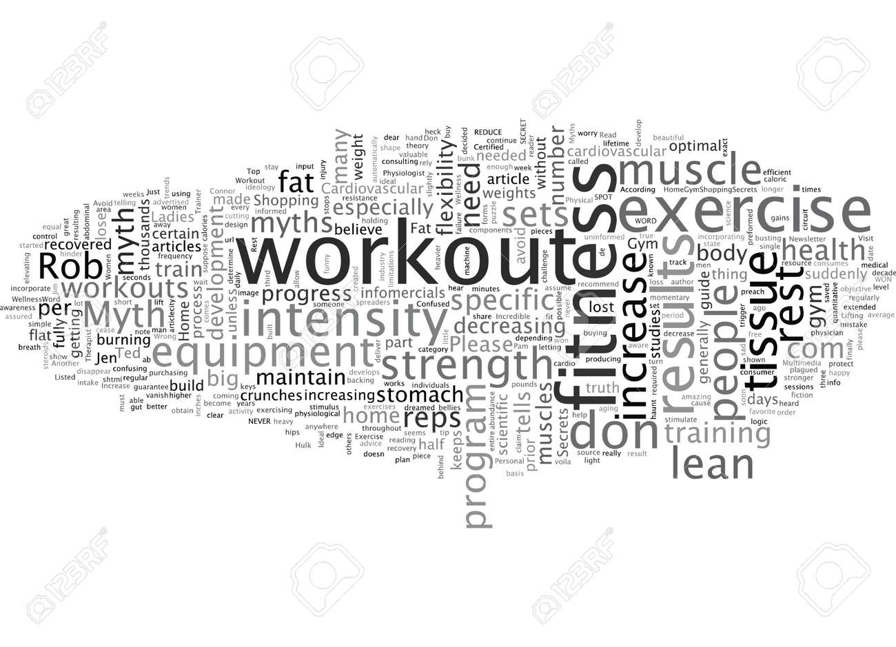 Avoid These Top Workout Myths - 132214713
