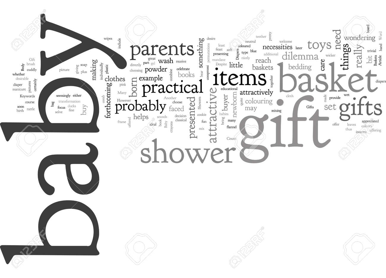 Baby Gift Baskets For Showers And Newborn Gifts - 132214738