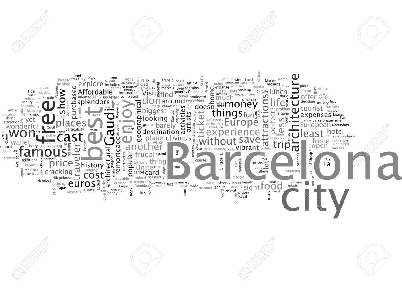 Barcelona Europe And Affordable Unite - 132214922