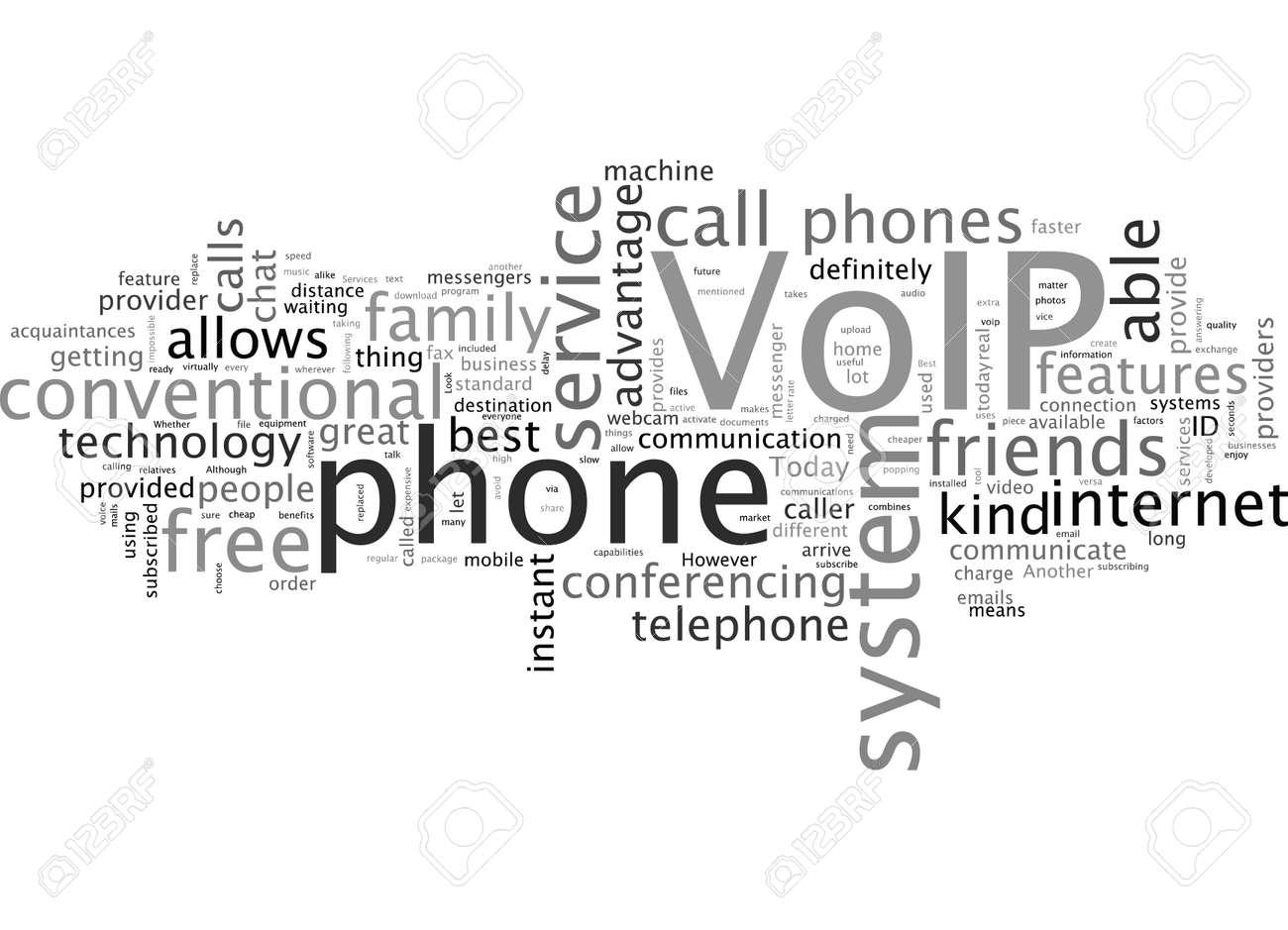 best voip services - 132215352