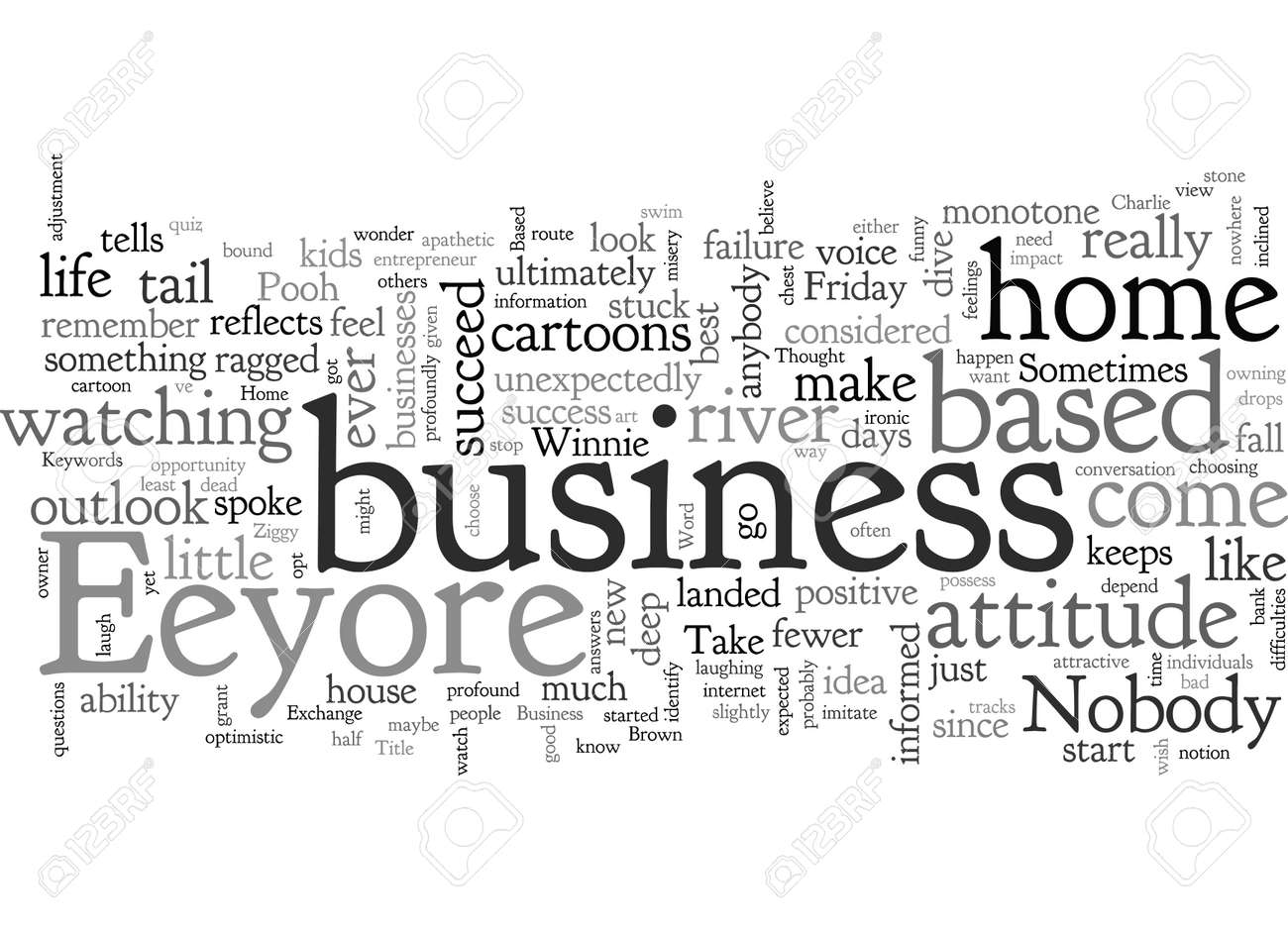 Home Based Business The Eeyore Factor - 132361502