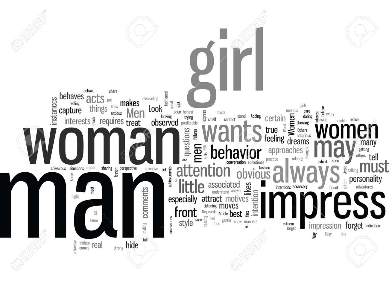 How To Impress Women The Easy Way - 132371207