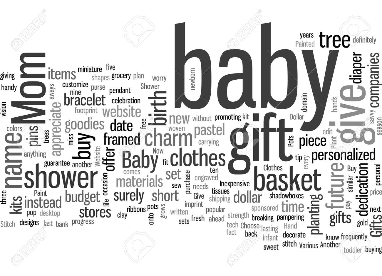 inexpensive baby shower gifts - 132379687