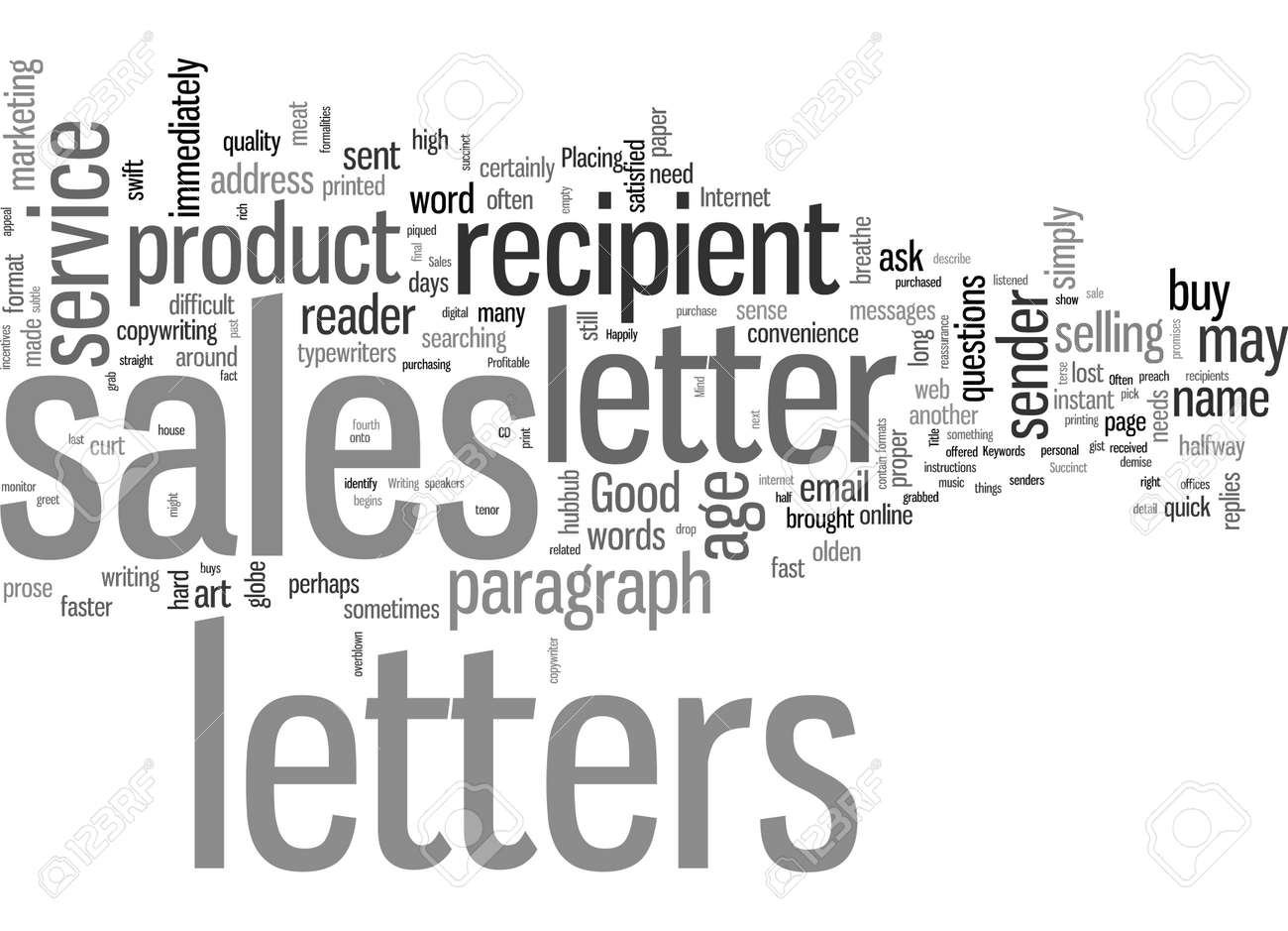 Succinct And Profitable Good Sales Letters - 132390528