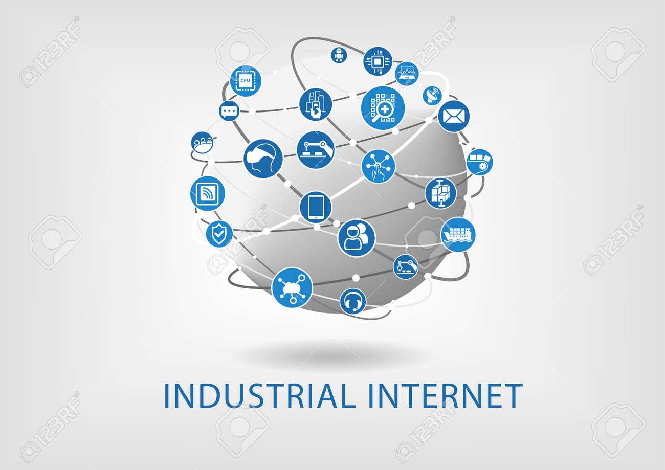 Industrial internet concept - 56637547