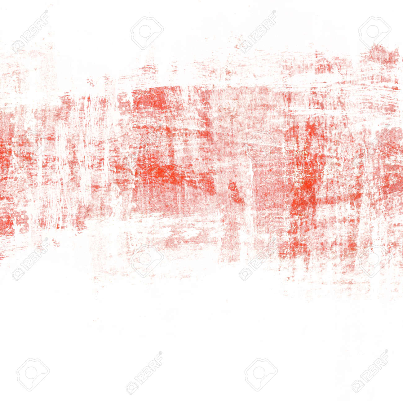 abstract red paint brush background with scratch texture